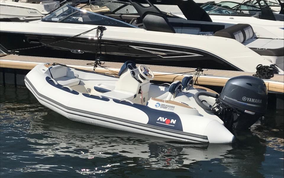 avon Sea Sport 400 DLX Bleu