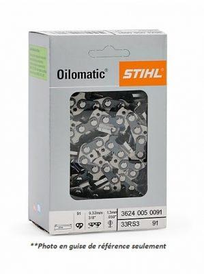 Chaîne pour scie à chaîne Stihl 33RS72E
