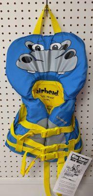 gilet de sauvetage pour enfant avec motif hippopotame